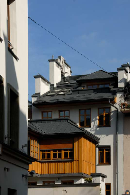 Remont i rozbudowa kamienicy przy ul. Szerokiej na Kazimierzu w Krakowie
