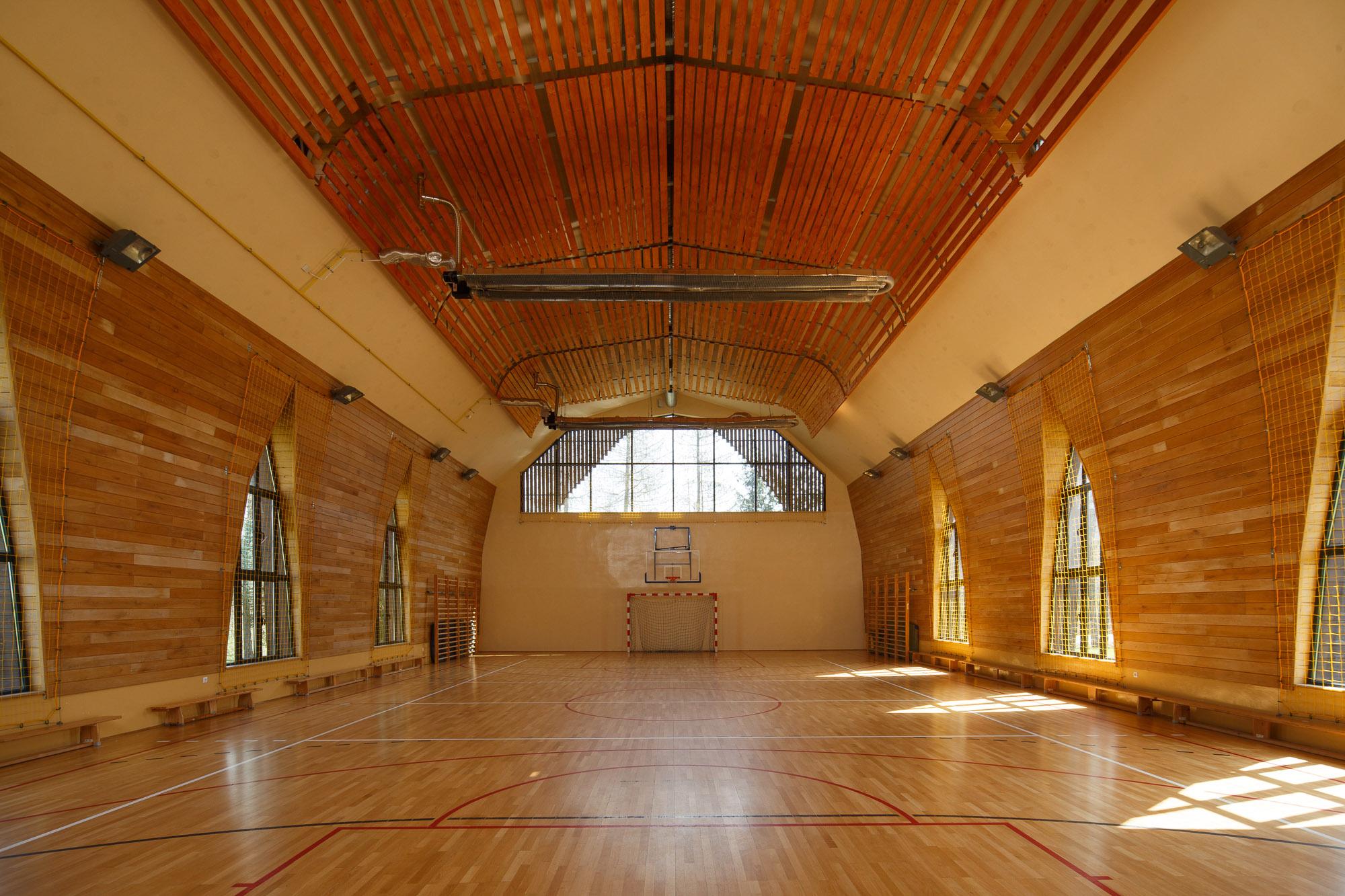 Sala Gimnastyczna, Maciejowa 83, Łabowa