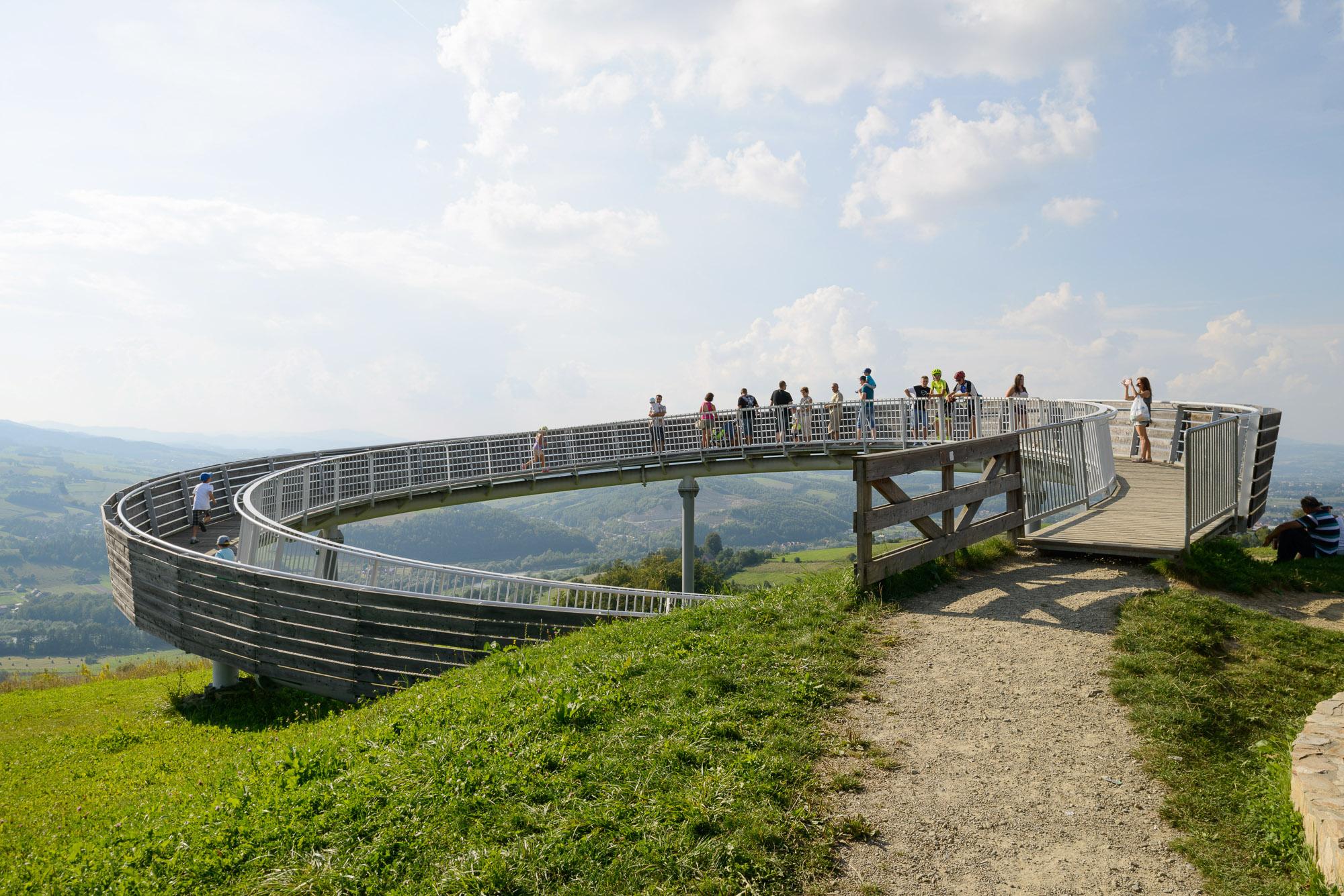 Platforma widokowa w Woli Kroguleckiej