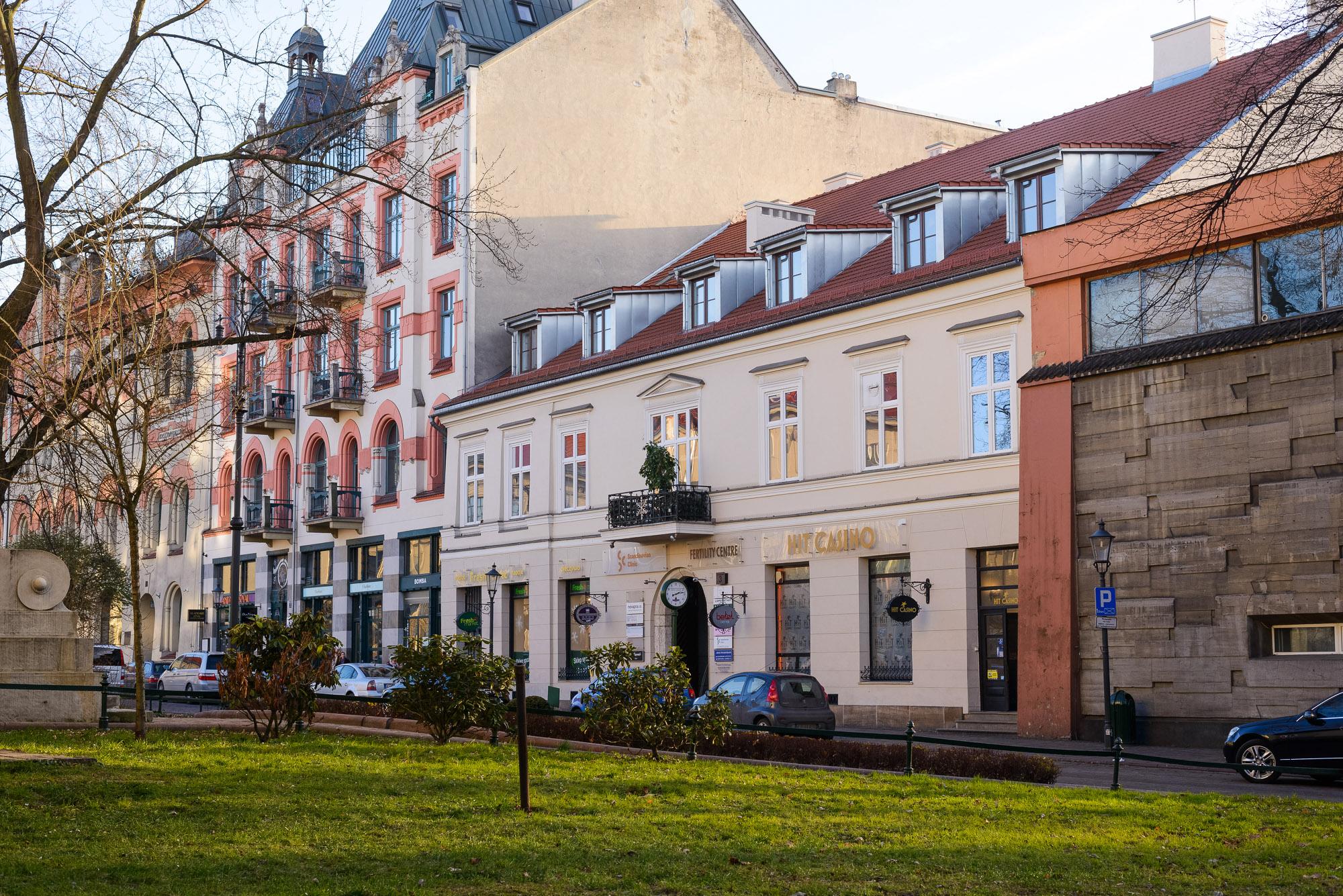 Budynek Usługowy-Oficyna, Plac Szczepański 3 , Kraków