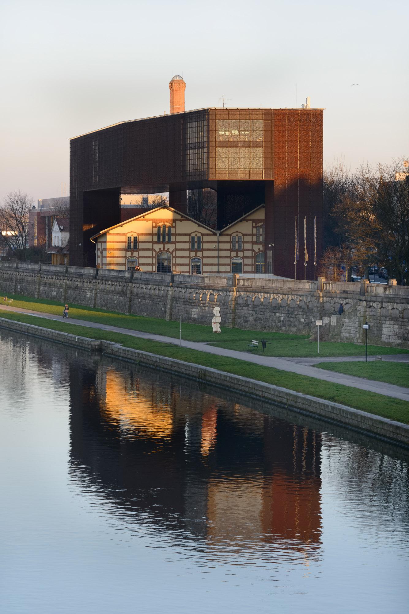 Budynek Ośrodka Dokumentacji Sztuki Tadeusza Kantora CRICOTEKA
