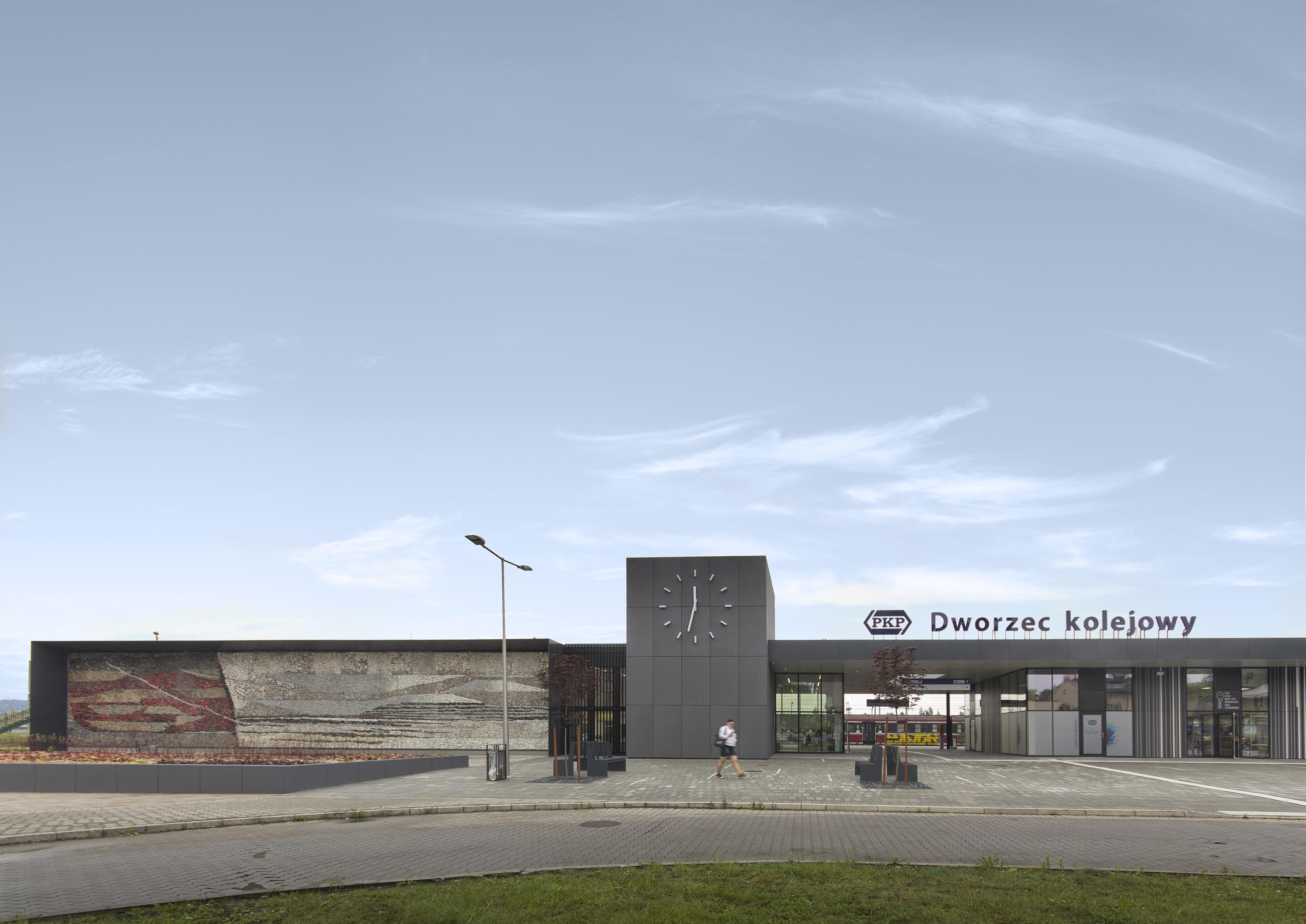 Dworzec kolejowy PKP w Oświęcimiu