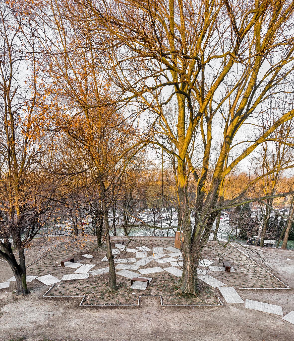 Park Pamięci Wielkiej Synagogi w Oświęcimiu