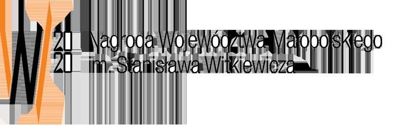 Logo Nagrody Województwa Małopolskiego imienia Stanisława Witkiewicza